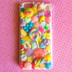 Candyland phone case.  #phonecase #cover #candy #lolipoop #sugar #chocolate #cellphone