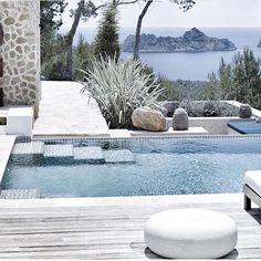 Pool design inspiration byCOCOON villa design hotel design bathroom design design products for easy living Dutch Designer Brand COCOON