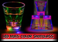 LED party shotglasses!!