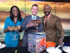 Nice job Rushion McDonald on the NBC KSNV interview in Las Vegas showing off our Perfect Bake PRO!