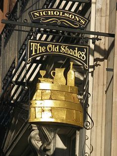 The Old Shades pub in Whitehall, Westminster, London