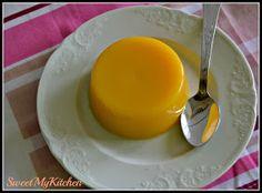 Sweet my Kitchen: Gelatina de laranja e gengibre com mel de laranjeira
