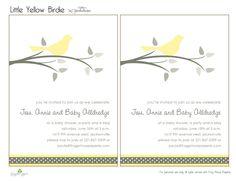 Yellow & Grey Bird Theme