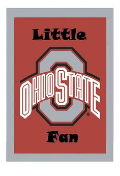 Ohio State Buckeyes  Little Fan Baby Onesie for by LilFanTees, $11.99