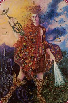 Bitch I'm fabulous and don't need your shit. Alternate meaning: You know that feeling you get when you switch and shampoos and you look like a god damn super model? Try that with your job, lover, whatever.   The Magician: Spiral Tarot