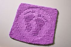 Baby Knitting Patterns Dishcloth these are too cute but are knit patterns/ bummer Knitted Dishcloth Patterns Free, Knitting Squares, Knitted Washcloths, Dishcloth Knitting Patterns, Crochet Dishcloths, Knit Or Crochet, Knitted Blankets, Loom Knitting, Knitting Stitches
