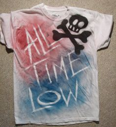 All Time Low shirt!! This is soo awesome!!