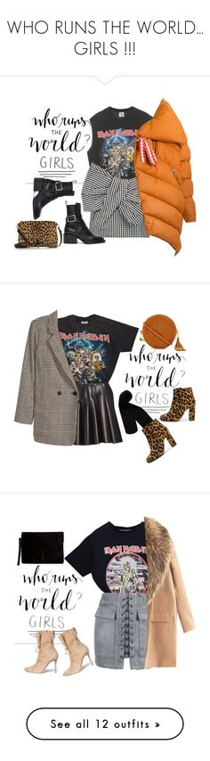 """WHO RUNS THE WORLD... GIRLS !!!"" by vanny ❤ liked on Polyvore featuring words, text, article, phrase, quotes, saying, Marc by Marc Jacobs, Jil Sander, Elizabeth and James and Marques'Almeida"