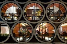 Concrete Pipe Accommodations : Prahan Hotel