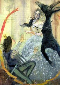 The Tales of Mother Goose by Nadezhda Illarionova - Donkeyskin