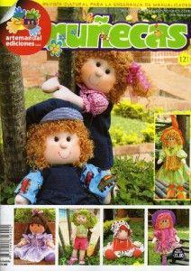 Revista completa con patrones incluidos para hacer muñecas. Ya puedes hacer tu misma tu propia muñeca y personalizarla como mas te guste.