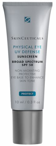 Skinceuticals Physical Eye UV Defense SPF 50; protects delicate skin in the eye area.