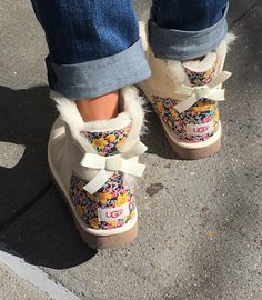 floral ugg boots wit