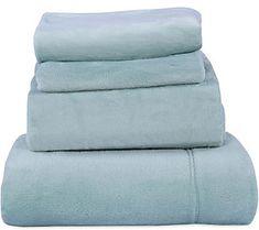 Berkshire Blanket Velvet Soft Cozy Full Sheet Set