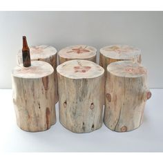 Stump Table Natural No Finish Sealer Applied Tree Trunk Stool Seat... (10,175 PHP) ❤ liked on Polyvore featuring home, furniture, stools, stump furniture, minimal furniture, minimalist furniture, tree trunk and eco friendly furniture