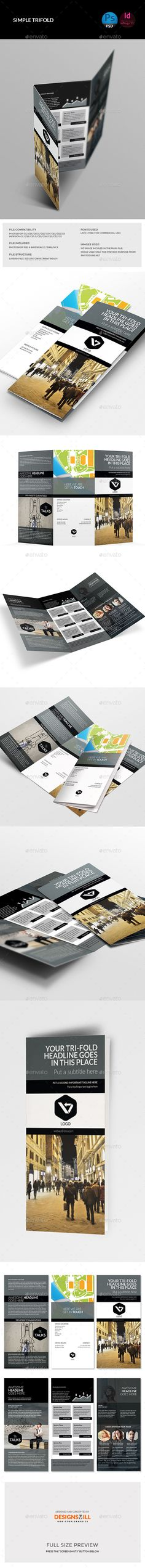 Tri-Fold Brochure Template. Download: http://graphicriver.net/item/trifold-brochure/11263526?ref=ksioks