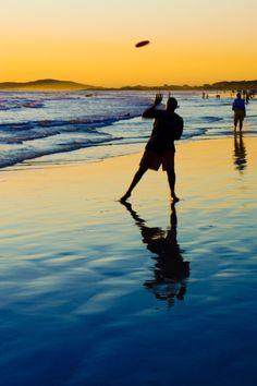 Frisbee on the Beach, Santa Barbara