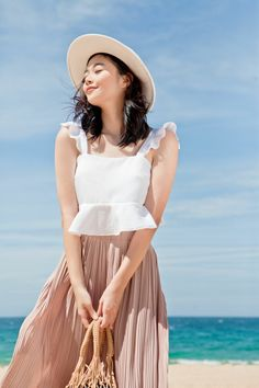 Panama Hat, Camisole, Asia, Hats, Beauty, Fashion, Moda, Panama, Hat