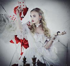 Alice in Wonderland: White Queen by sansreve.deviantart.com on @deviantART