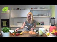 Rohkost Rezept: Blumenkohl-Reis - natürlich roh vegan - YouTube
