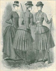 Cotton Calico Dresses 1870s-1880s - Google Search