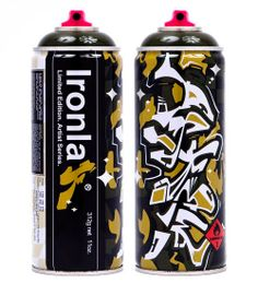 ASKEW 'Olivia'  - Limited Edition Ironlak cans. Artist Series.