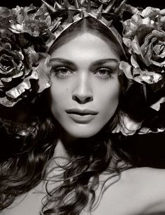 The Look: Elisa Sednaoui for the Pirelli Calendar 2011 by Karl Lagerfeld #NSFW