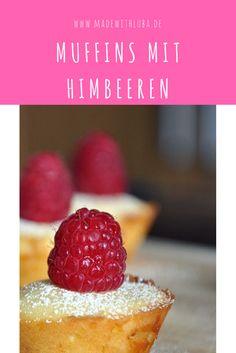 Kleine Mini Muffins mit weißer Schokolade und Himbeeren. Ein leckerer kleiner Sommer Snack!  Muffins, Kindergeburtstag, Grillen, Party, Sommer