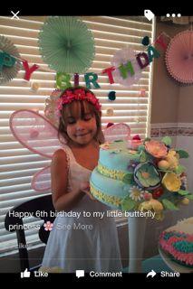 Gianna's 6th birthday