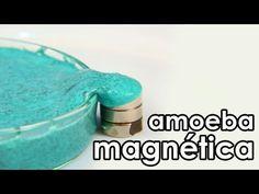 Amoeba magnética (como fazer geleca magnética)