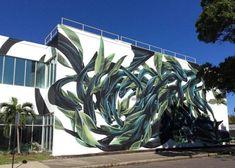 Street artist from Portugal Pantonio in St Petersburg