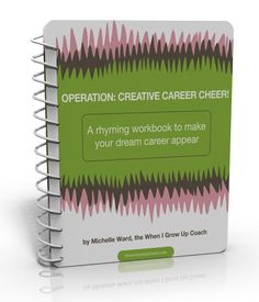 operation: creative career cheer!   looks like a fun workbook...