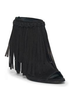 Randi Fringed Suede Sandal - Polo Ralph Lauren Sandals - RalphLauren.com