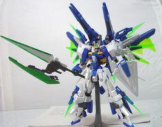 GUNDAM GUY: 1/144 Gundam AGE-FX Eternal [Full Equipment] - Custom Build