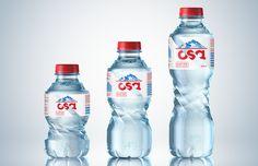 OSA - разработка дизайна упаковки минеральной воды.