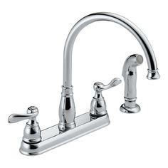 Delta 21996LF - Two Handle Kitchen Faucet