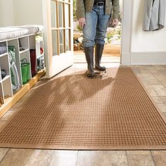 Water Guard Entry Mats Squares Bat Doors Mudroom Laundry Room
