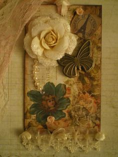 altered tag by mamacrafter