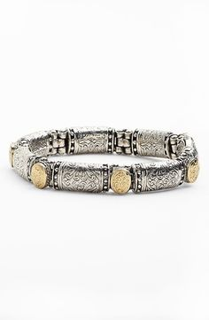 Konstantino Clics Two Tone Bracelet Available At Nordstrom Gold Fashion Sterling