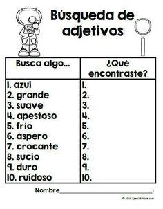Los adjetivos en espaol (Adjectives in Spanish)