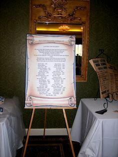 high school reunion memorial display poster