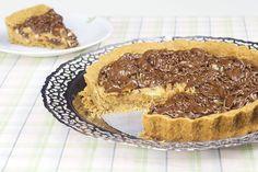 Torta de Banana e Doce de leite com Cobertura de Chocolate