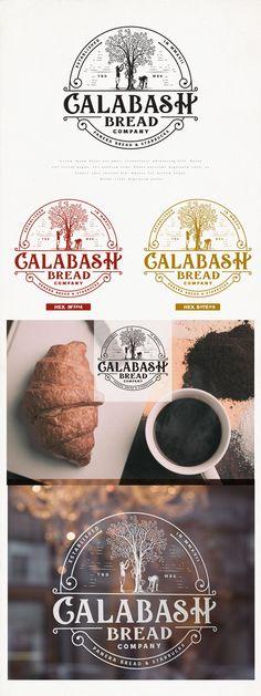 Design #11 by Project 4   Vintage Logo design for Calabash Bread Company