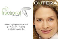 Exclusively at Imagen... Imagen is proud to announce the addition of the #Pearl #Fractional #Resurfacing Laser from #Cutera. This laser incorporates the best available technologies to improve results and reduce downtime compared to #CO2 and Erbium lasers. It's ideal for #FineLines & #wrinkles, #AgeSpots and #AcneScarring.