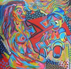 Online veilinghuis Catawiki: Zippora Meijer - Pinocchio's Dream