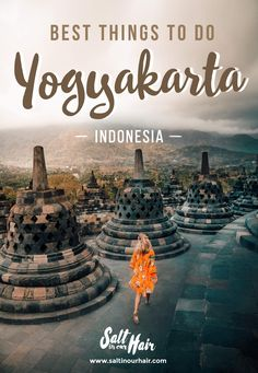 Yogyakarta, Java is filled with ancient Javanese art and has temples like Prambanan and Borobudur. Spend 3 days with these things to do in Yogyakarta. Malang, Road Trip Outfit, Stuff To Do, Things To Do, Borobudur Temple, Bali Travel, Travel Goals, How To Take Photos, Travel Guides