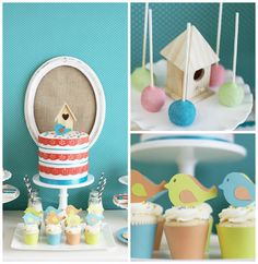 Little Birdie Birthday Party via Kara's Party Ideas