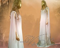 Galadriel Gown - The Hobbit Costume Dress Lord of the Rings