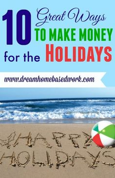 10 Great Ways to Make Money for the Holidays