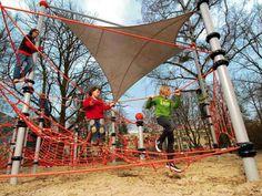 Parasol de lona / para parque infantil L Berliner Seilfabrik GmbH & Co.
